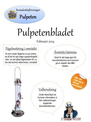 Pulpetenbladet Februari 2014