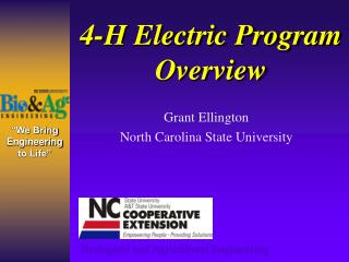 4-H Electric Program Overview