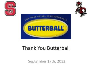 Thank You Butterball
