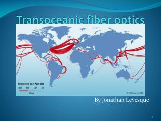 Transoceanic  fiber  optics