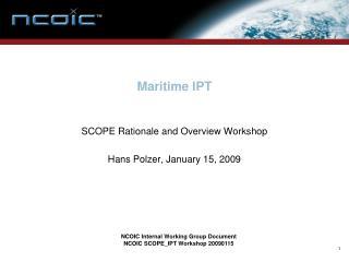 Maritime IPT