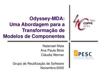 Odyssey-MDA:  Uma Abordagem para a Transformação de Modelos de Componentes