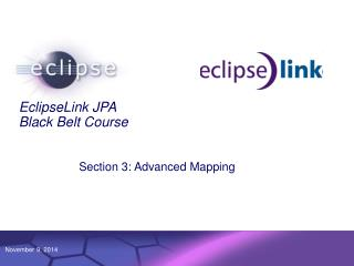 EclipseLink JPA Black Belt Course