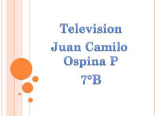 Juan Camilo  Ospina P