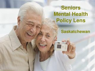 Seniors  Mental Health  Policy Lens