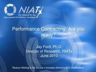 Performance Contracting: Are you ready?