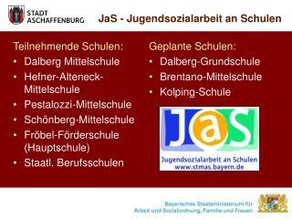 JaS - Jugendsozialarbeit an Schulen