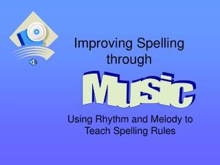 Improving Spelling through
