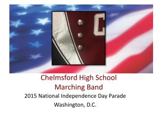 Chelmsford High School  Marching Band