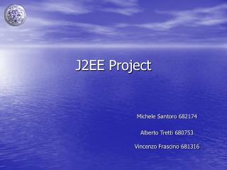 J2EE  Project