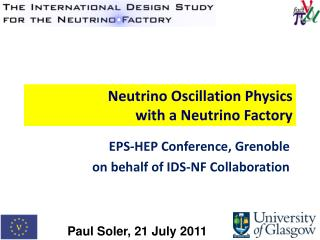 Neutrino Oscillation Physics  with a Neutrino Factory
