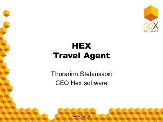 HEX Travel Agent