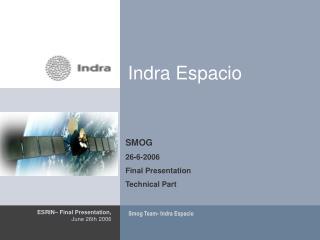 Indra Espacio
