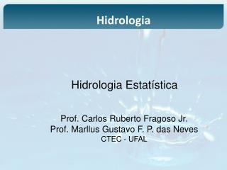Hidrologia Estatística