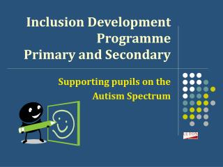 Inclusion Development  Programme Primary and Secondary