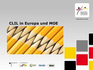 CLIL in Europa und MOE