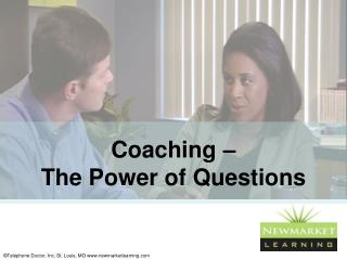Coaching –  The Power of Questions