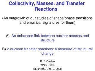 R. F. Casten WNSL, Yale KERNZ08, Dec. 2, 2008