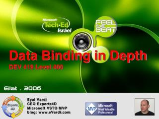 Data Binding in Depth DEV 419 Level 400