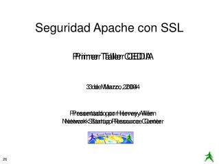 Seguridad Apache con SSL