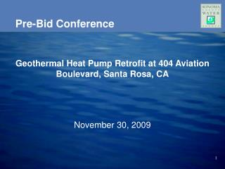 Pre-Bid Conference
