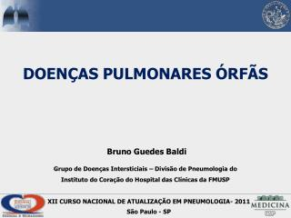 DOEN�AS PULMONARES �RF�S