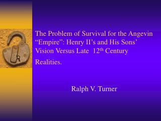 Ralph V. Turner