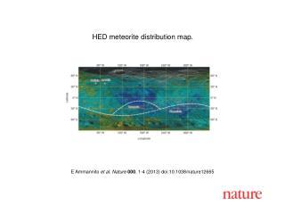 E Ammannito et al.  Nature  000 ,  1 - 4  (201 3 ) doi:10.1038/nature 12665
