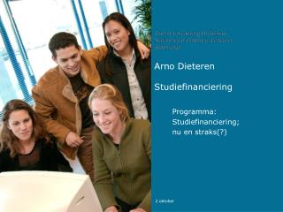 Arno DieterenStudiefinanciering