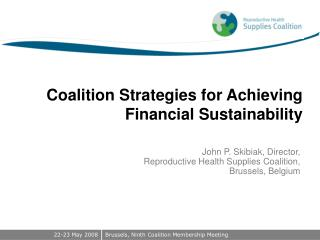 Coalition Strategies for Achieving Financial Sustainability