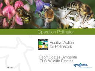 Geoff Coates Syngenta   ELO Wildlife Estates