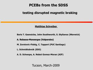 PCEBs from the SDSS  testing disrupted magnetic braking