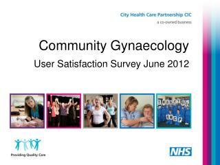 Community Gynaecology