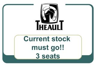 Current  stock  must go!! 3  seats