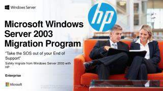 Microsoft Windows Server 2003  Migration Program