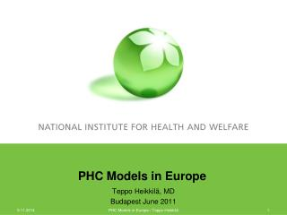 PHC Models in Europe