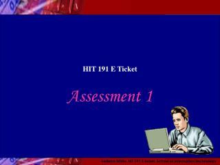 HIT 191 E Ticket