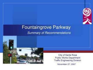 Fountaingrove Parkway