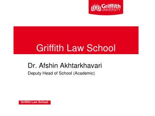 Griffith Law School