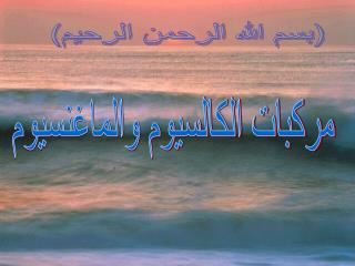 (بسم الله الرحمن الرحيم)