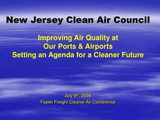 New Jersey Clean Air Council