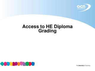 Access to HE Diploma Grading
