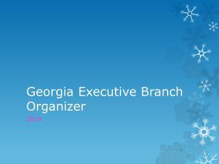 Georgia Executive Branch Organizer