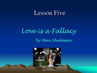 Lesson Five
