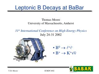 Leptonic B Decays at BaBar