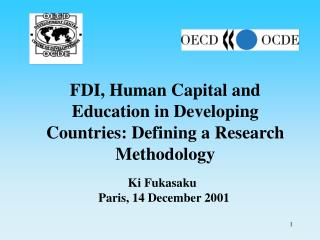 FDI, Human Capital and Education in Developing Countries: Defining a Research Methodology