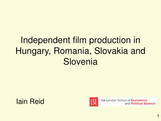 Independent film production in Hungary, Romania, Slovakia and Slovenia