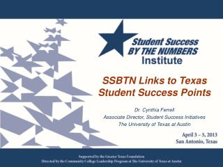 SSBTN Links to Texas Student Success Points