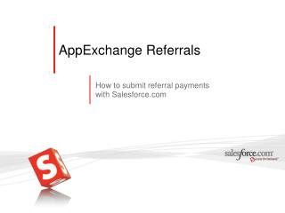 AppExchange Referrals