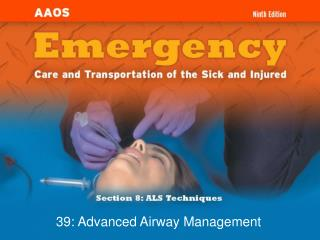 39: Advanced Airway Management
